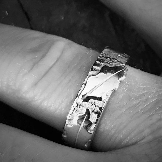 'Oak Leaf Ring' Beverley Hutton Moore