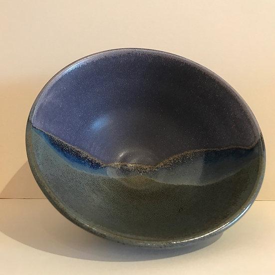 'Gold Sunset' Bowl  Fran Marquis