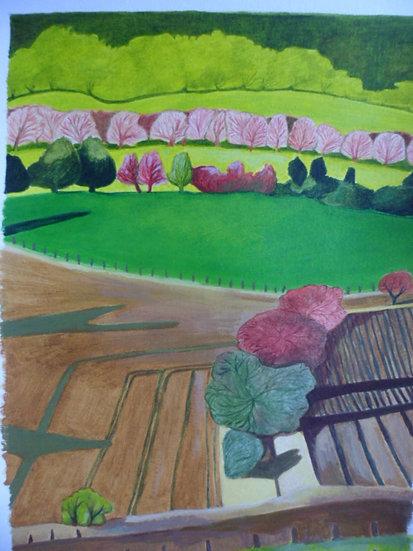 'Ploughed Field'   Emma Rodenhurst Grant