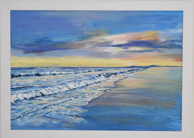 """Sunset at Mellon Udrigle"" Christine McLennan"