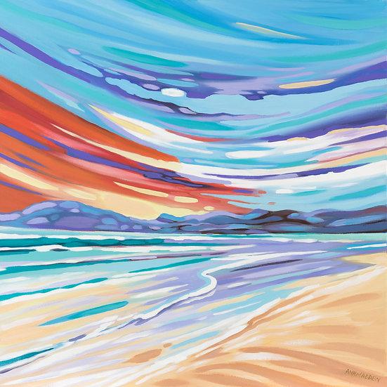 'Shifting Sands, Luskentyre, Harris'   Ann Madden