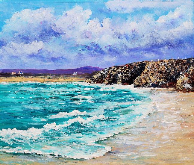 'Clachtoll Beach, Sutherland' Anne Fenton