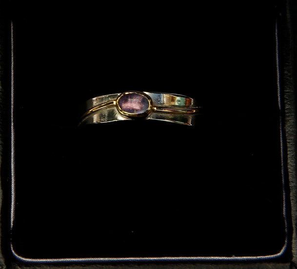 Silver 18k gold  Ring' Lorna Purvis