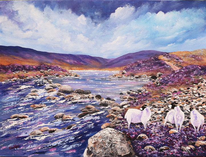 'Watching You Watching Me - Loch Callater' - Anne Fenton