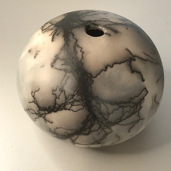 'Round Calligraphic Vessel'  Fran Marquis