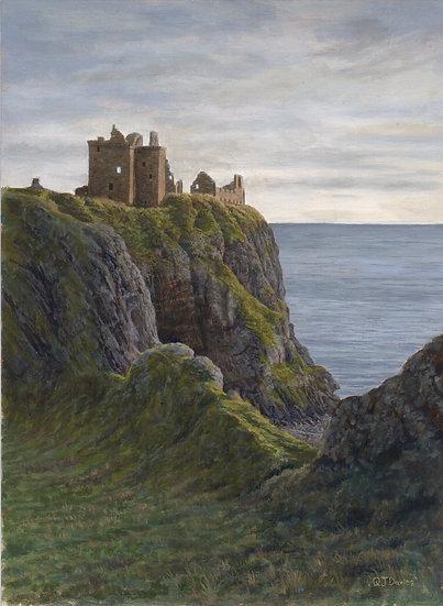 'Dunnottar Castle' Quintin Davies