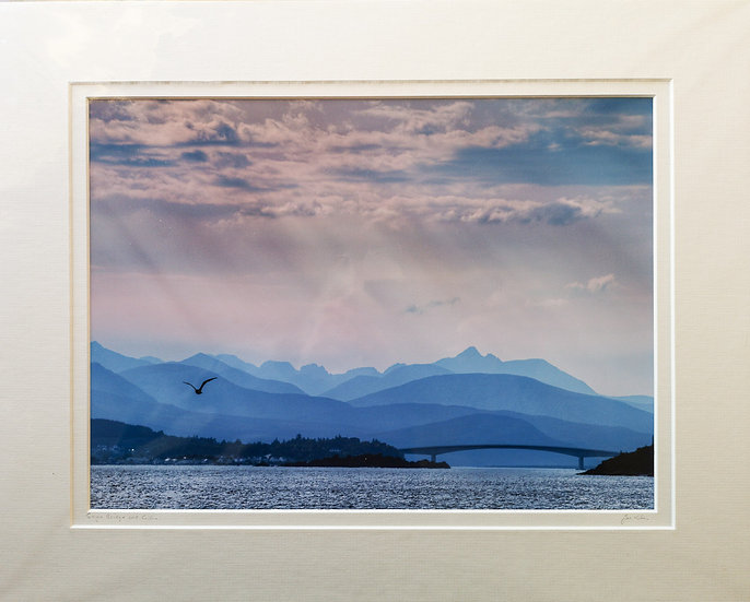 'Skye Bridge & Cuillin' Jan Holm