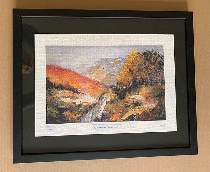 ' Towards the Cairngorms' Myrtle Watt