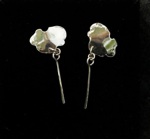 'Silver Earrings'  Lorna Purvis
