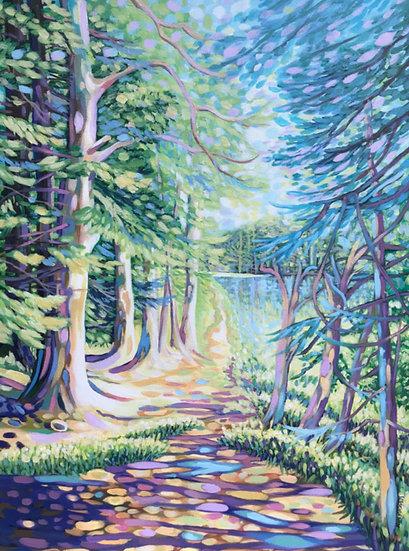 'Queens Loch, Aboyne' Ann Madden