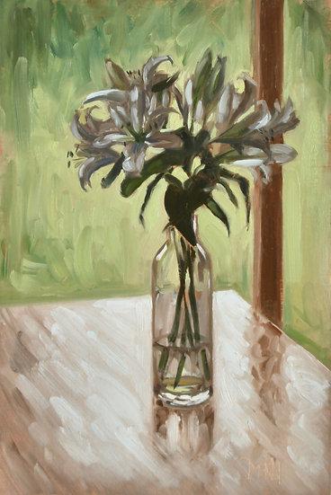 """Lillies in Sihouette"" Melanie Harrison"