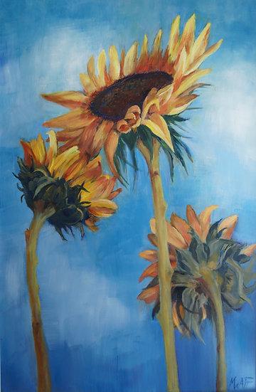 "'Reach for the Sun""  Myrtle Watt"