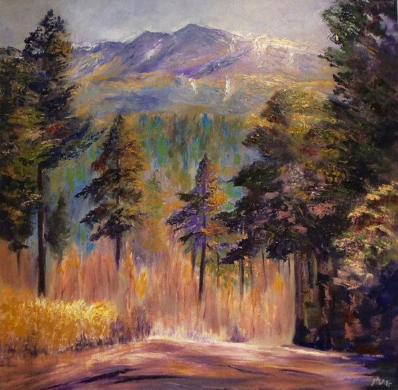 'Lochnagar from the North, Braemar' Myrtle Watt