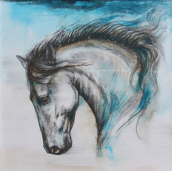 'Glass Horse' Roselyne O'Neill
