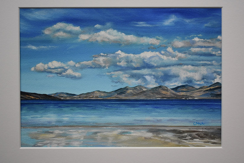 """""""By the Water's Edge at Luskentyre"""" Christine McLennan"""