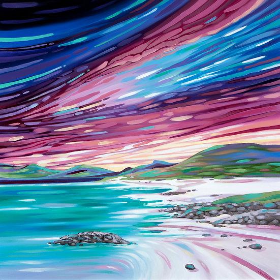 ' Evening Skies, Luskentyre Beach '  Ann Madden