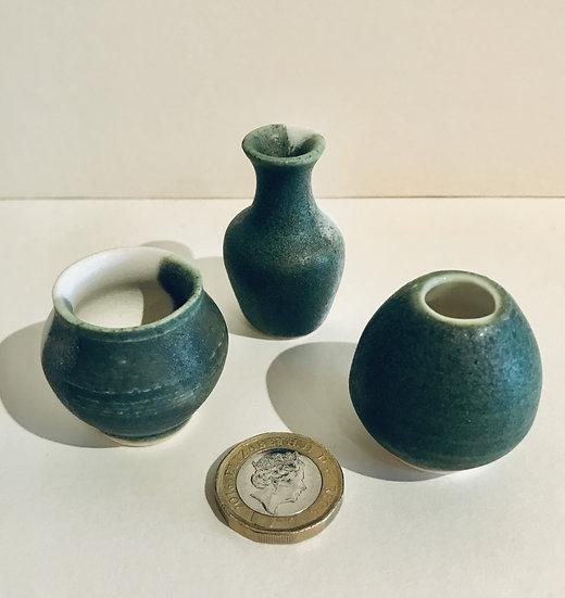 'Family set of 3 mini Pots' Fran Marquis
