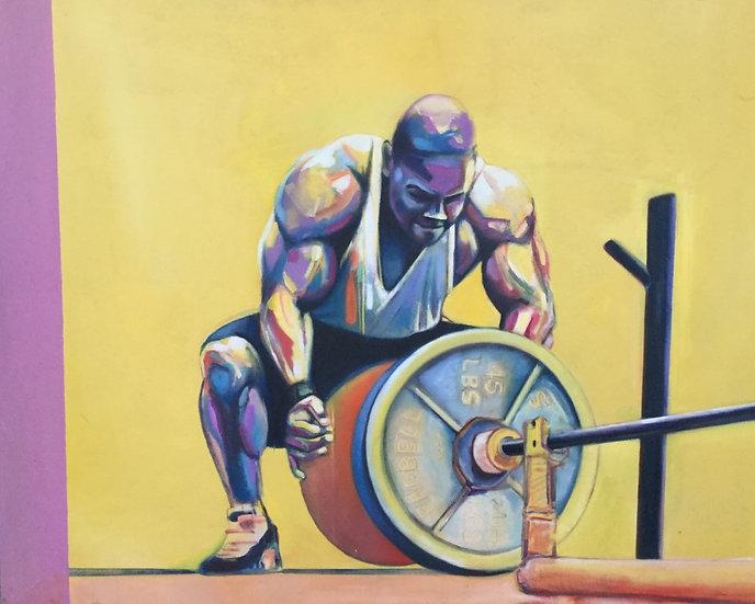 'Lifting' David Wylie