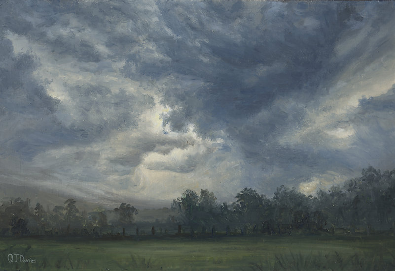 'July Storm Over Morven II' Quintin Davies