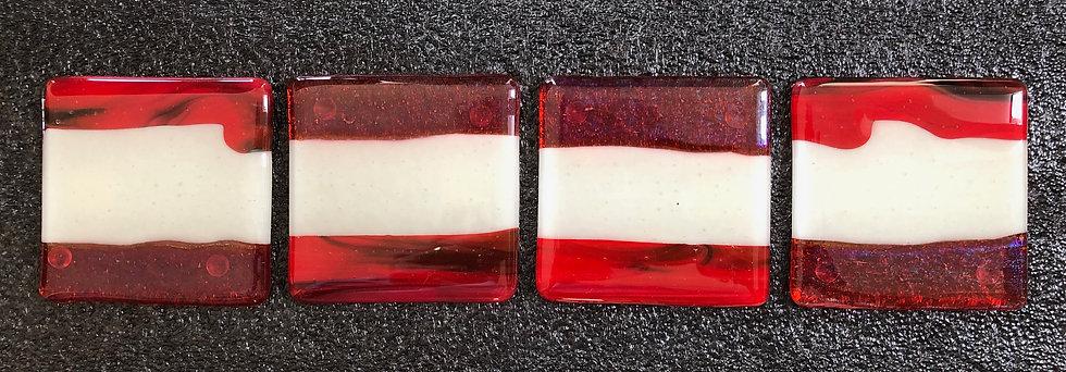 'Orange, Red & Vanilla TilesV1' Michael Zappert