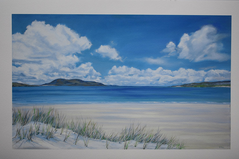 """Dreaming of Luskentyre"" Christine McLennan"