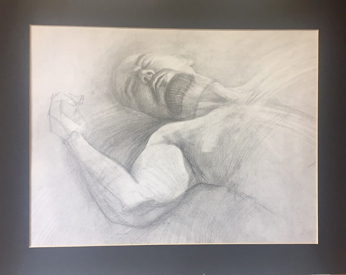 'Sleeping Male 4' David Wylie