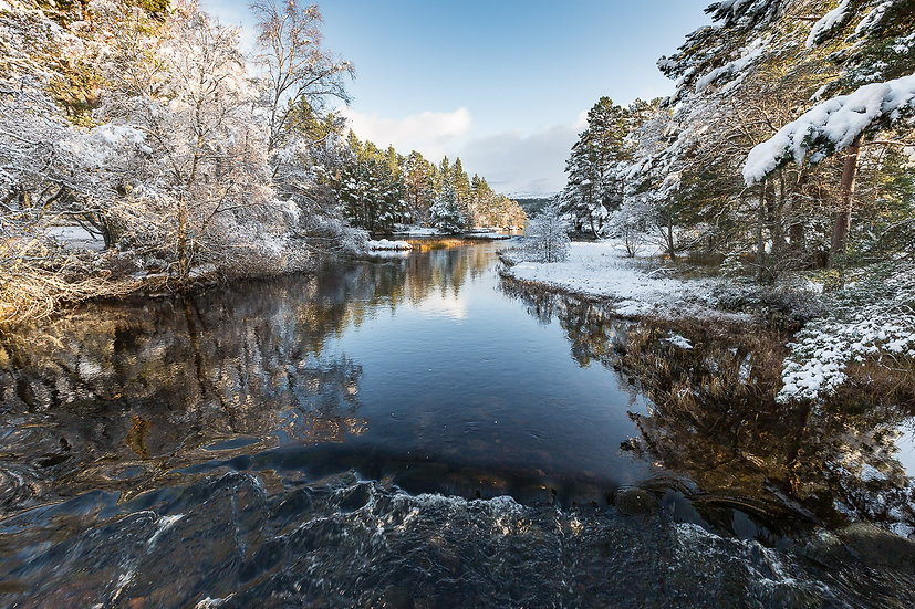 'River Luineag , Cairngorms' Jan Holm