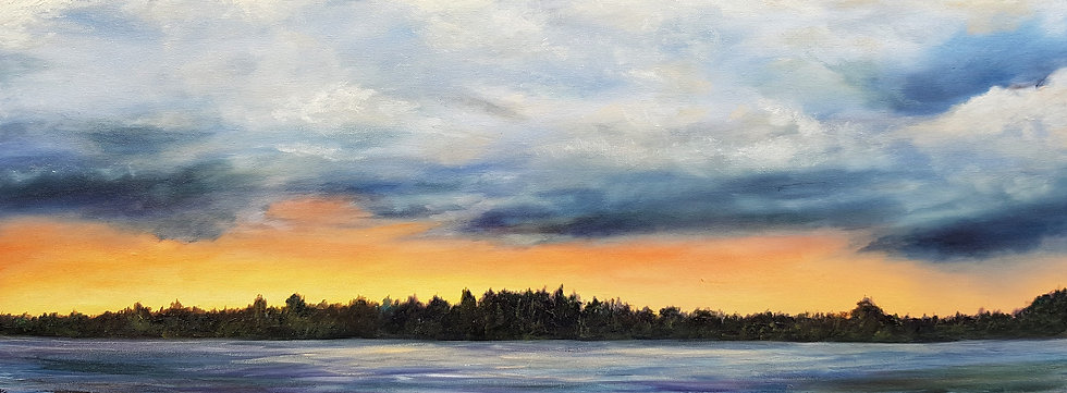'Sunset over the Loch' Kate Cunningham
