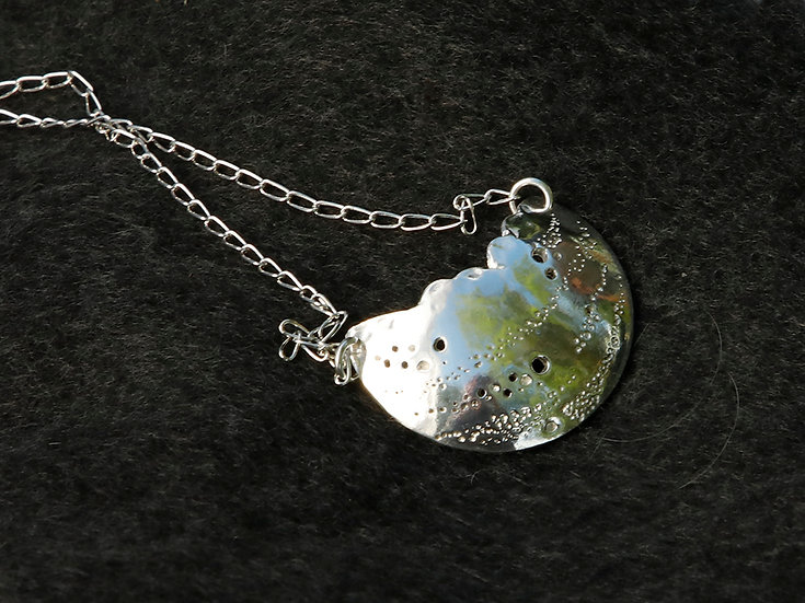 'Fine Silver Pendant' Lorna Purvis