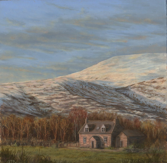 'Mains of Logie Cottage' Quintin Davies