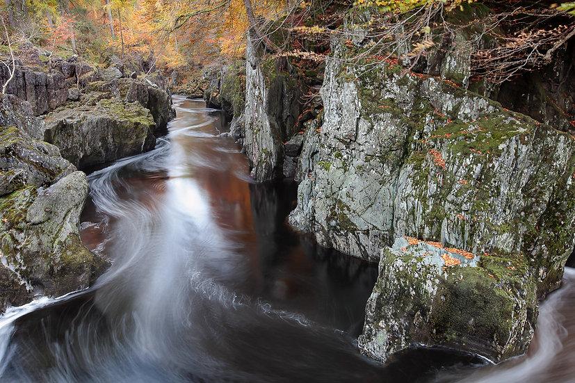 'Rocks Of Solitude, Glen Esk' Jan Holm