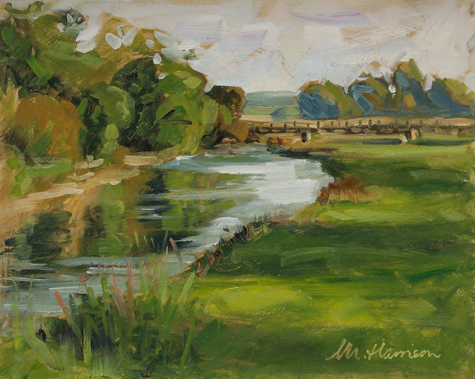 """""""Reflections on the River Don"""" Melanie Harrison"""