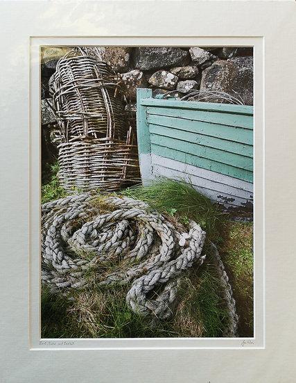 'Boat, Rope & Basket' Jan Holm