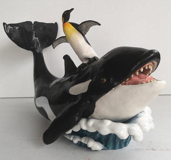 Bucket List - No.1 -Surf a Killer Whale - Suz MacInnes