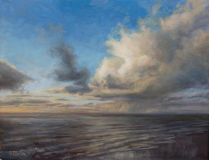 'West Coast Sunset'  Quintin Davies