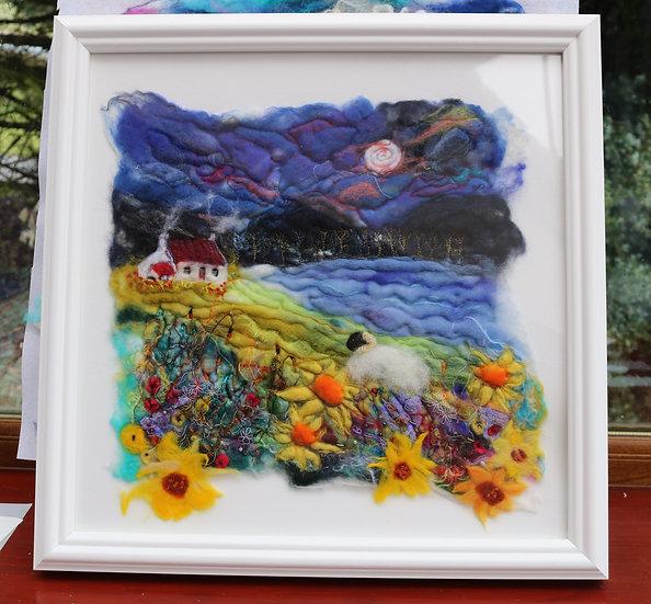 'Amongst the Sunflowers' - Anne Fenton