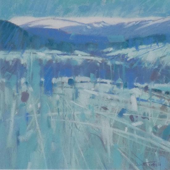 'Frosted Fields, Birse' John Threlfall