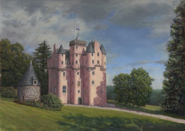 'Craigievar Castle' Quintin Davies