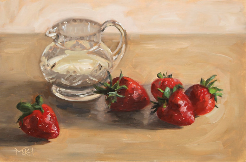 """Strawberries and Cream"" Melanie Harrison"