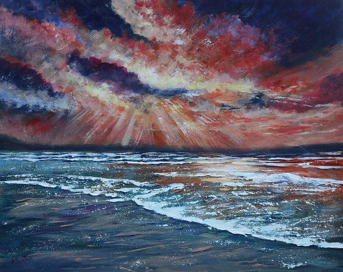'Sky on Fire' - Anne Fenton