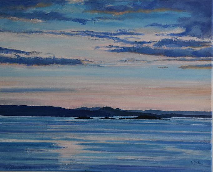 """Summer Isles 2"" Christine McLennan"