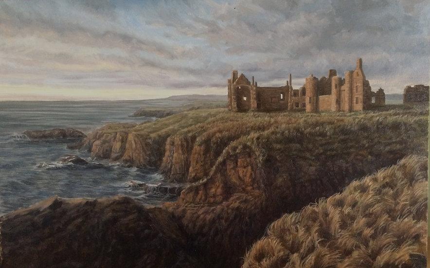 'New Slains Castle' Quintin Davies