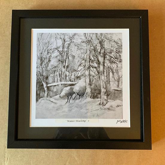 'Winter Drawing' Myrtle Watt