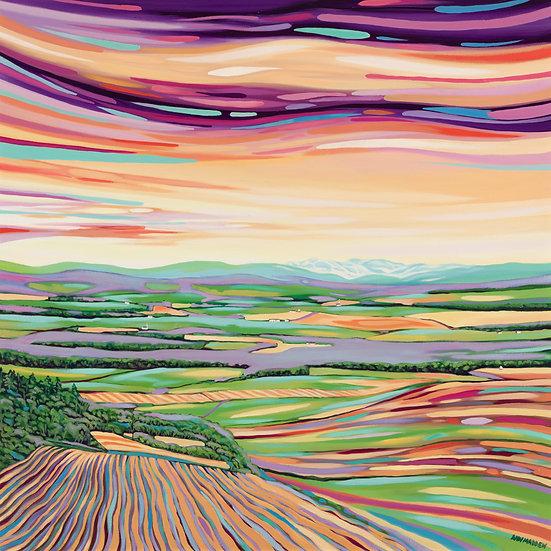 'Evening Sun Queen's View ' Ann Madden