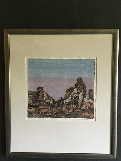 'Volcanic Landscape' Anna Sedgwick