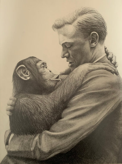 'Monkey See, Monkey Do' David Wylie