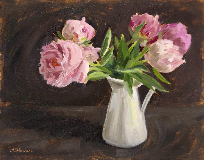 """""""Blousy Blooms in June"""" Melanie Harrison"""