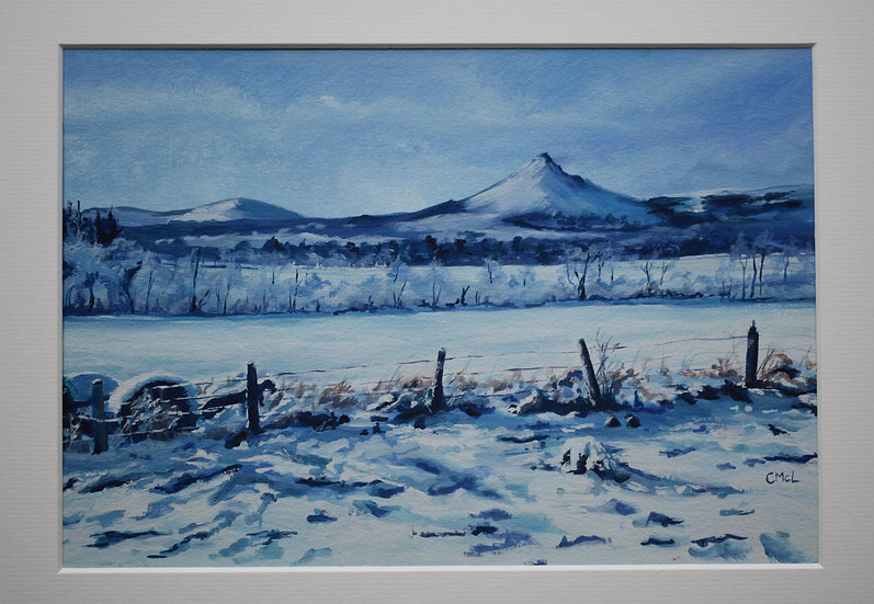 """Four Seasons on Bennachie - Winter"" Christine McLennan"