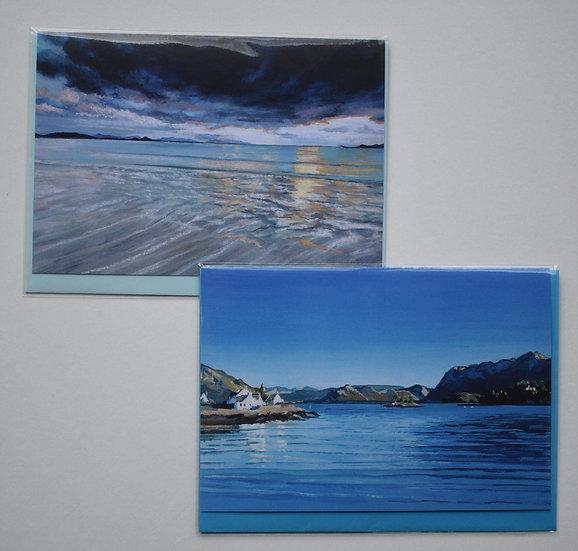 """Water"" card set by Christine McLennan"