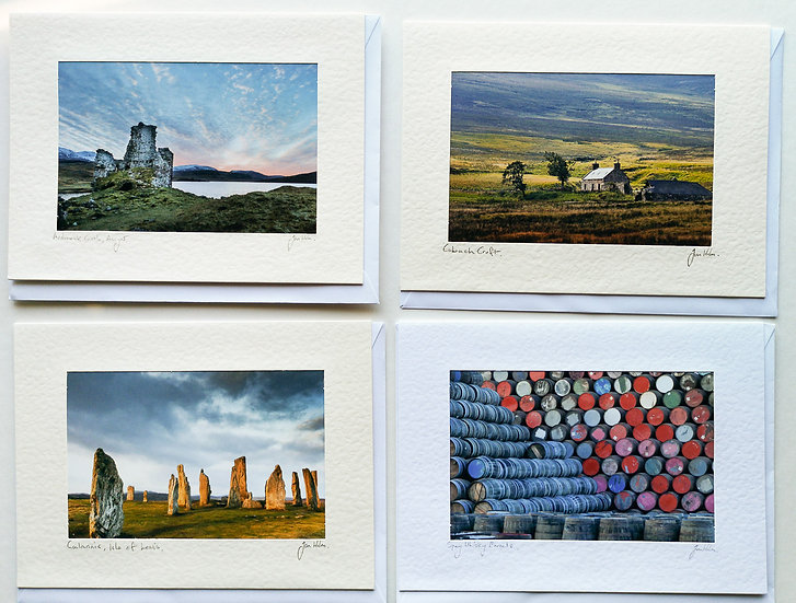 'Heritage Cards Pack of 4' Jan Holm